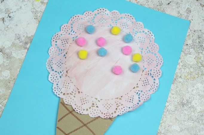 doily ice cream