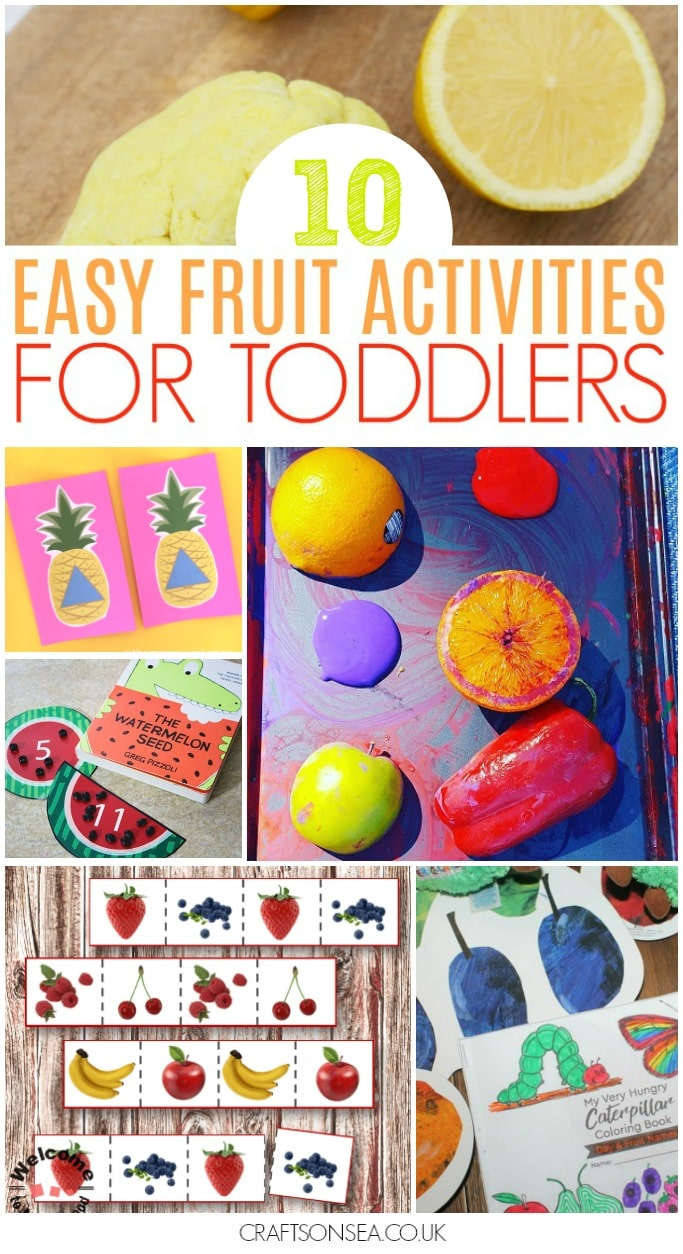easy fruit activities for toddlers
