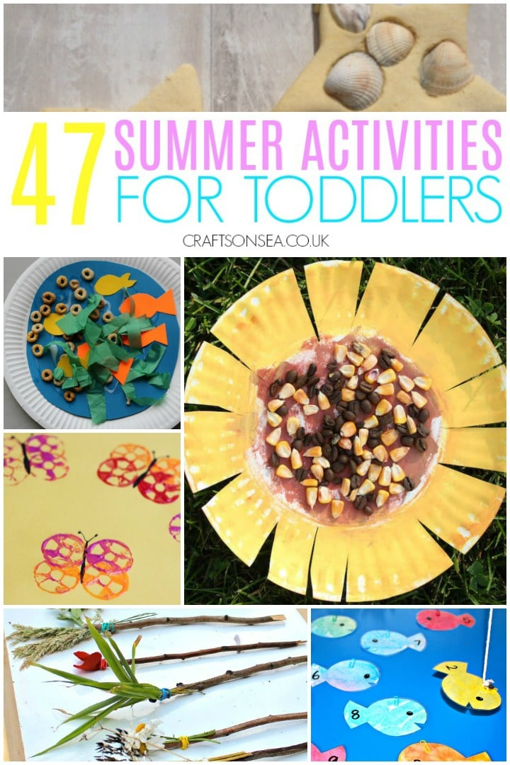 easy summer activities for toddlers