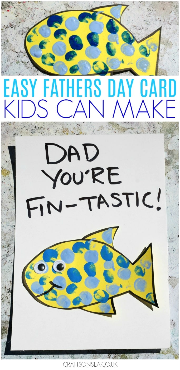 fathers day cards preschool toddlers diy
