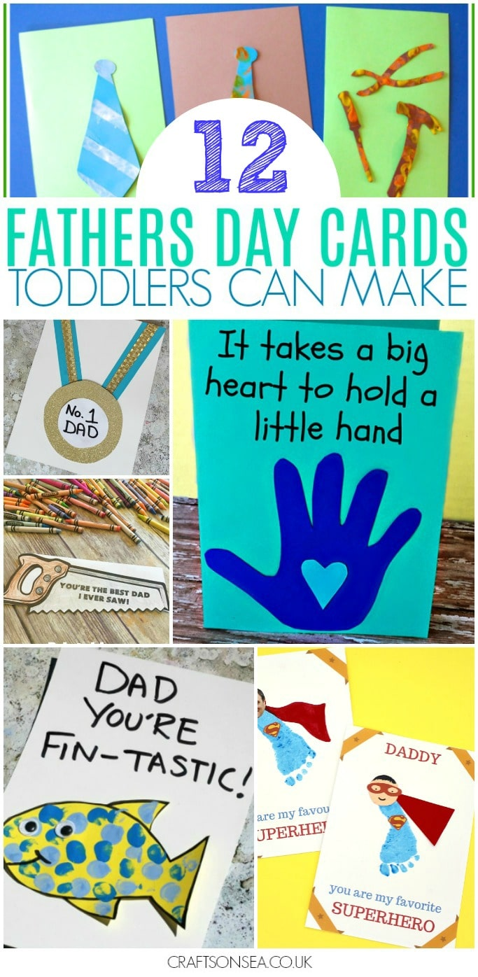 fathers day cards toddlers can make