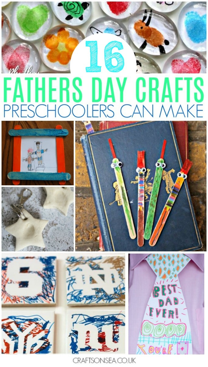 fathers day crafts for preschoolers diy