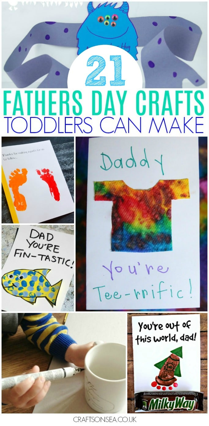 fathers day crafts for toddlers to make
