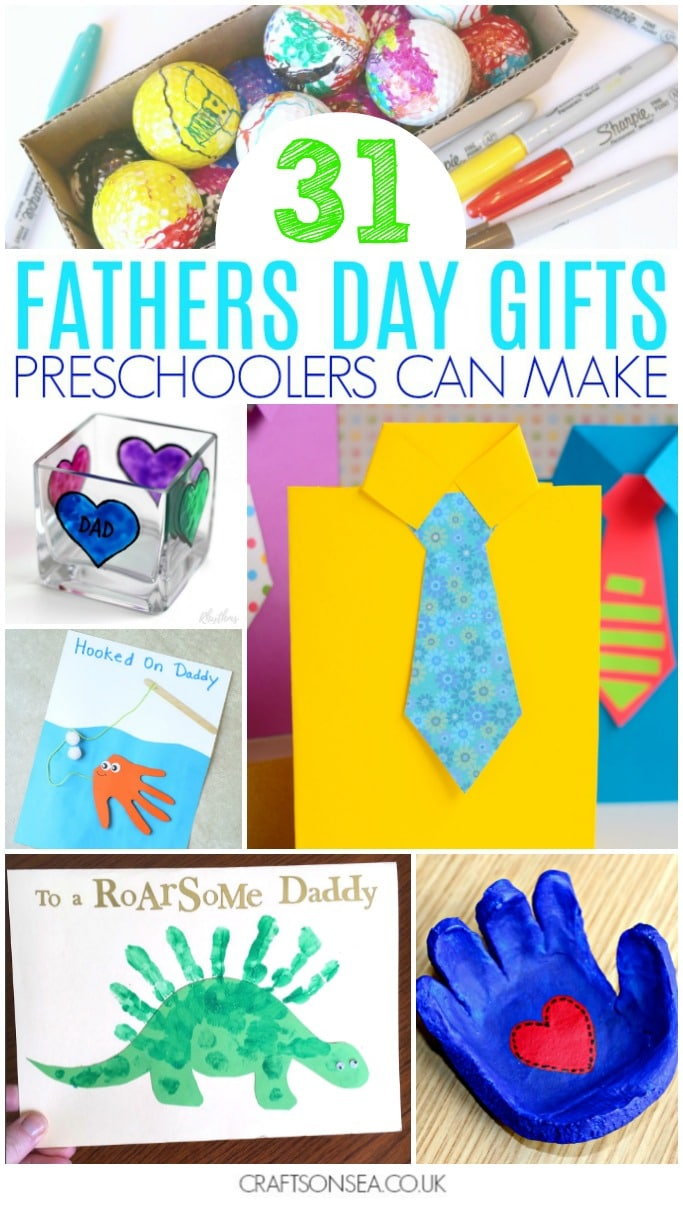 30 Fathers Day Gifts Preschoolers Can Make Crafts On Sea