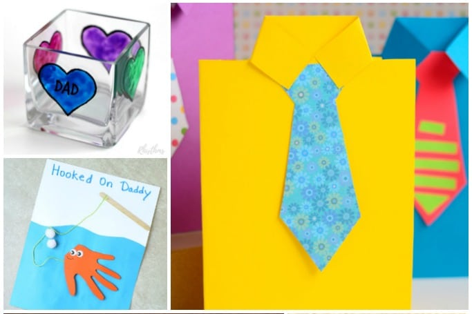fathers day gifts preschoolers can make easy