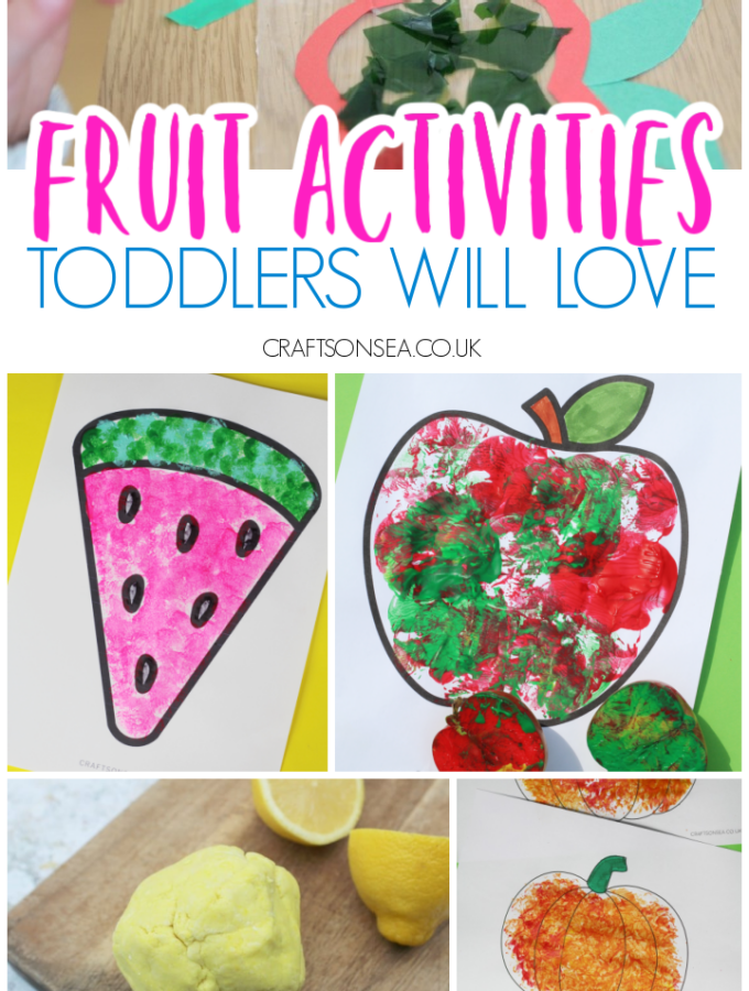 fruit activities for toddlers