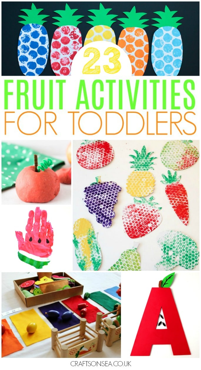 fruit activities for toddlers preschool fun ideas