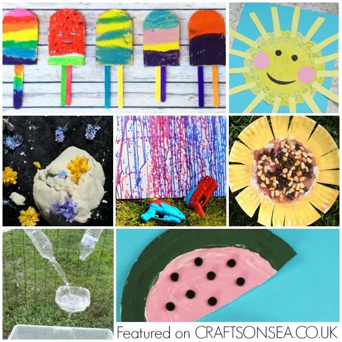 summer activities and crafts for preschoolers
