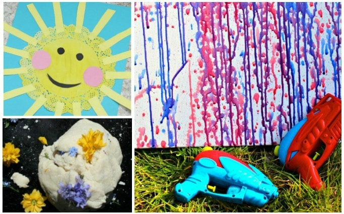 40 Super Fun Summer Activities For Preschoolers Crafts On Sea