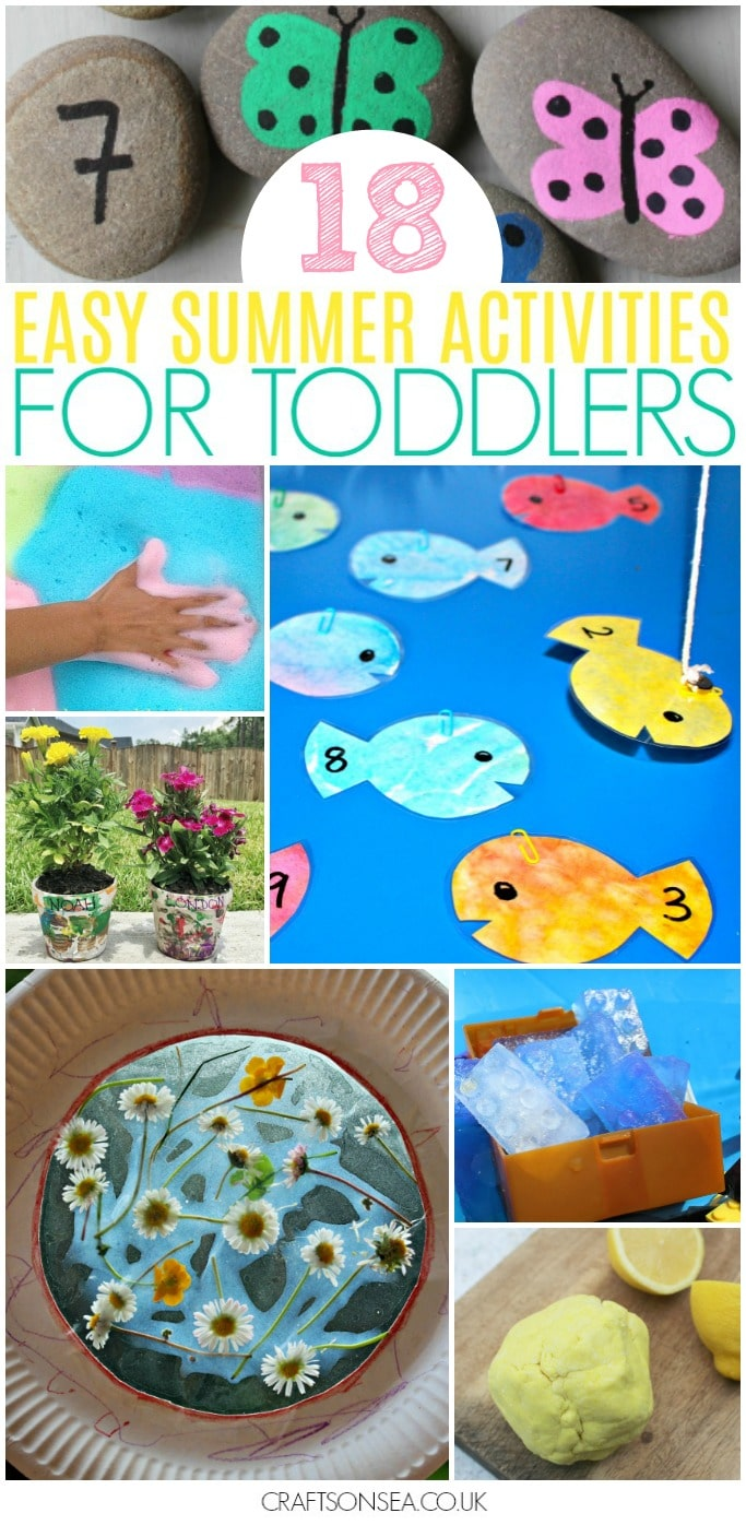 summer activities for toddlers easy
