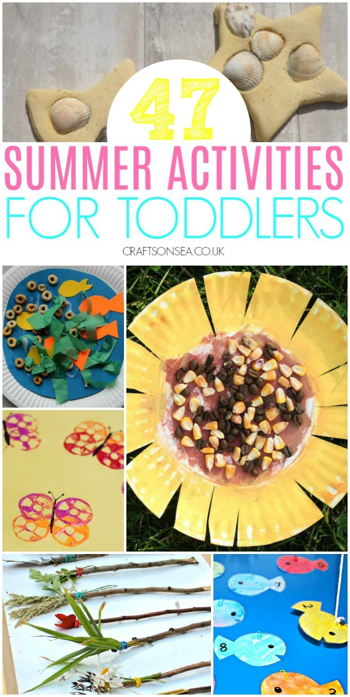 summer activities for toddlers preschool easy