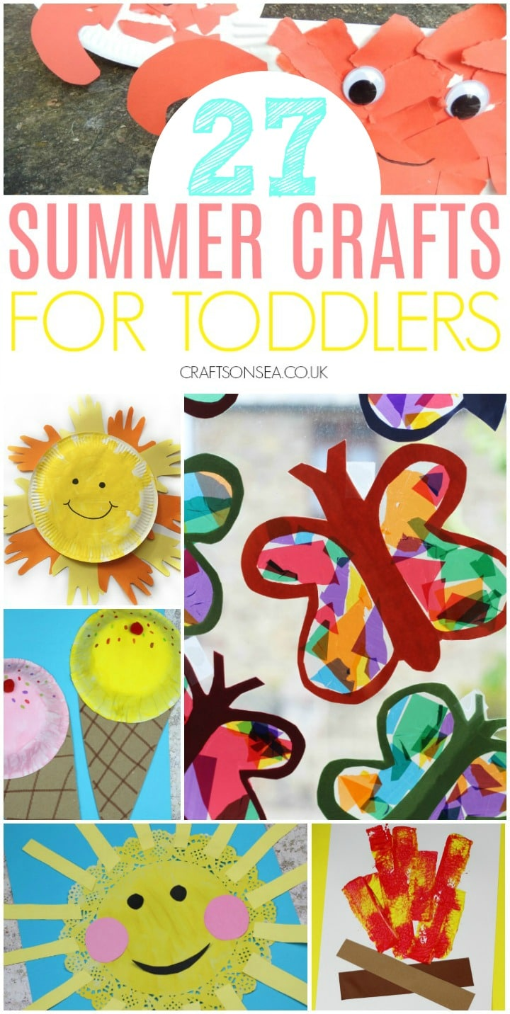 summer crafts for toddlers butterflies sun crafts icecream crafts
