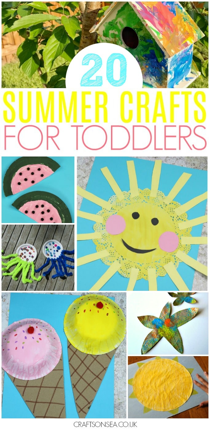 35 Easy And Fun Summer Activities For Toddlers Crafts On Sea
