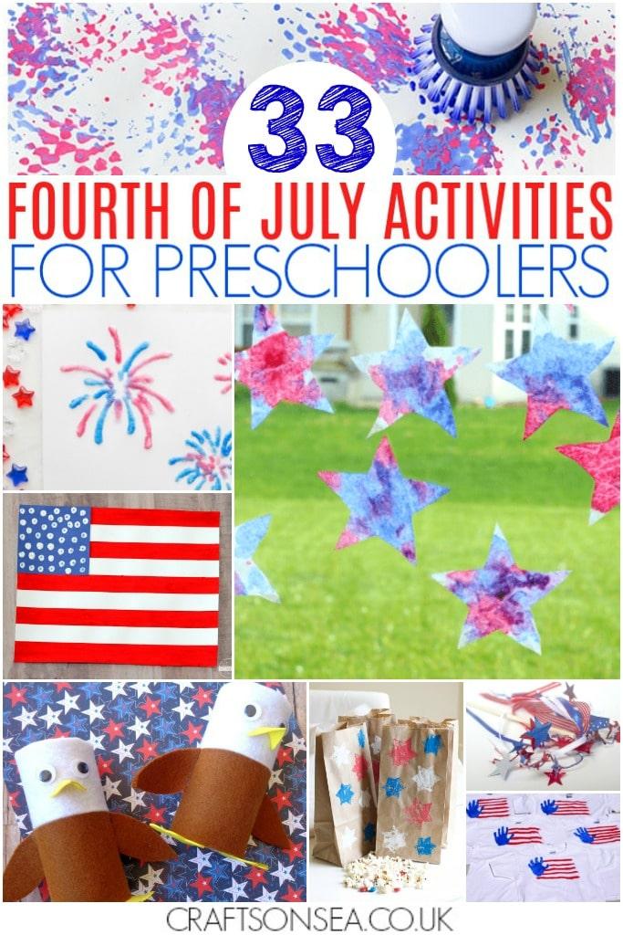 4th of july activities for preschool