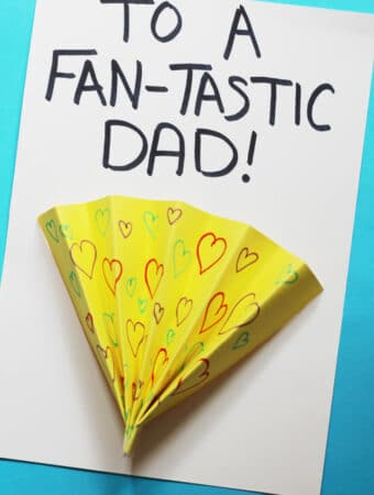 fathers day cards for kids fan