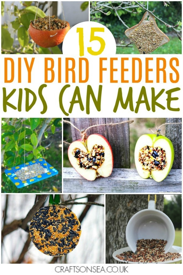 bird feeders for kids to make