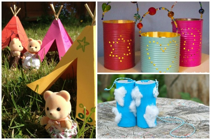 camping crafts for kids to make