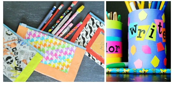 diy school supplies and organization