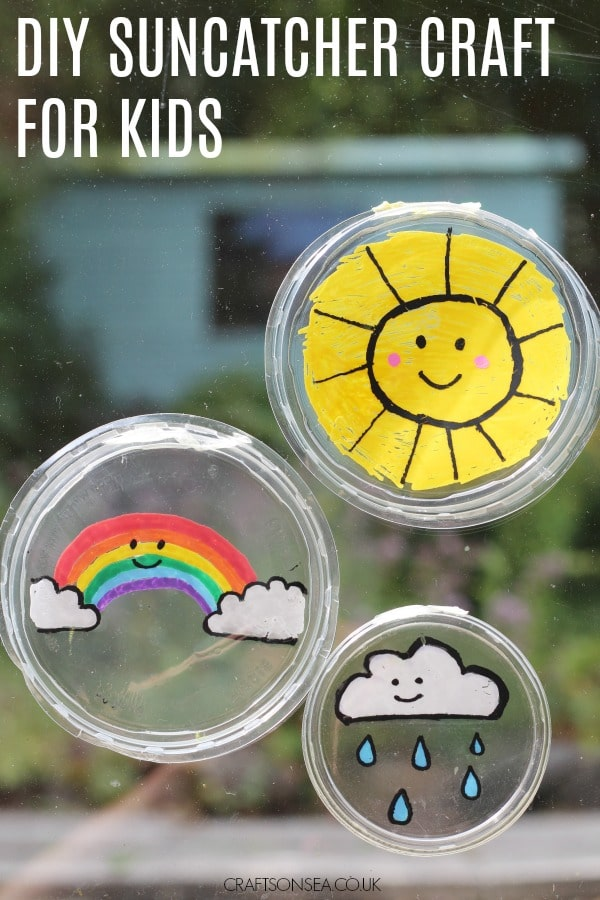 diy suncatcher craft for kids easy