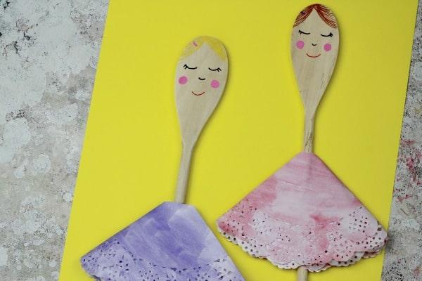easy ballerina craft for kids