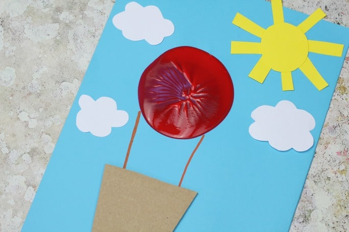 easy hot air balloon craft for kids