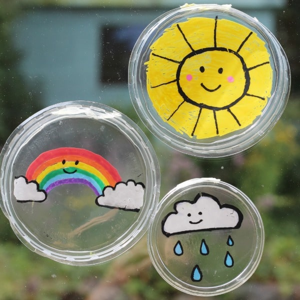 easy stained glass suncatchers for kids to make