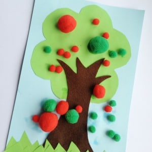 fine motor apple tree activity 300