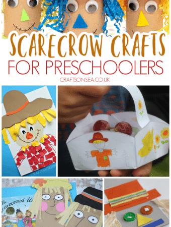 scarecrow crafts preschool