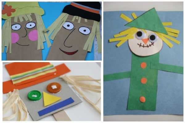 10 Easy Scarecrow Crafts For Preschool Crafts On Sea