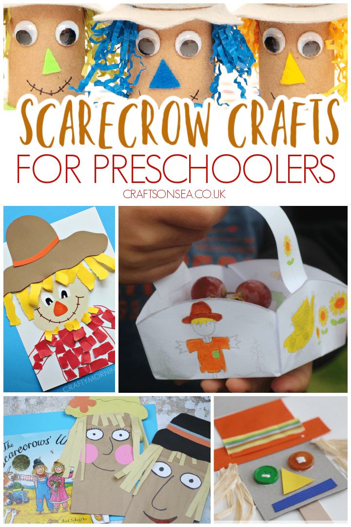 scarecrow crafts preschool