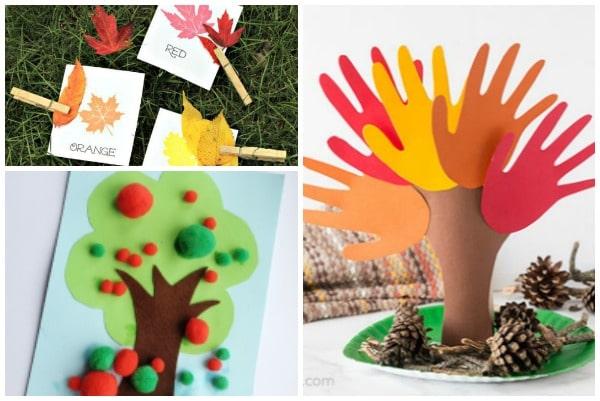 45 Autumn Activities For Preschoolers Crafts On Sea