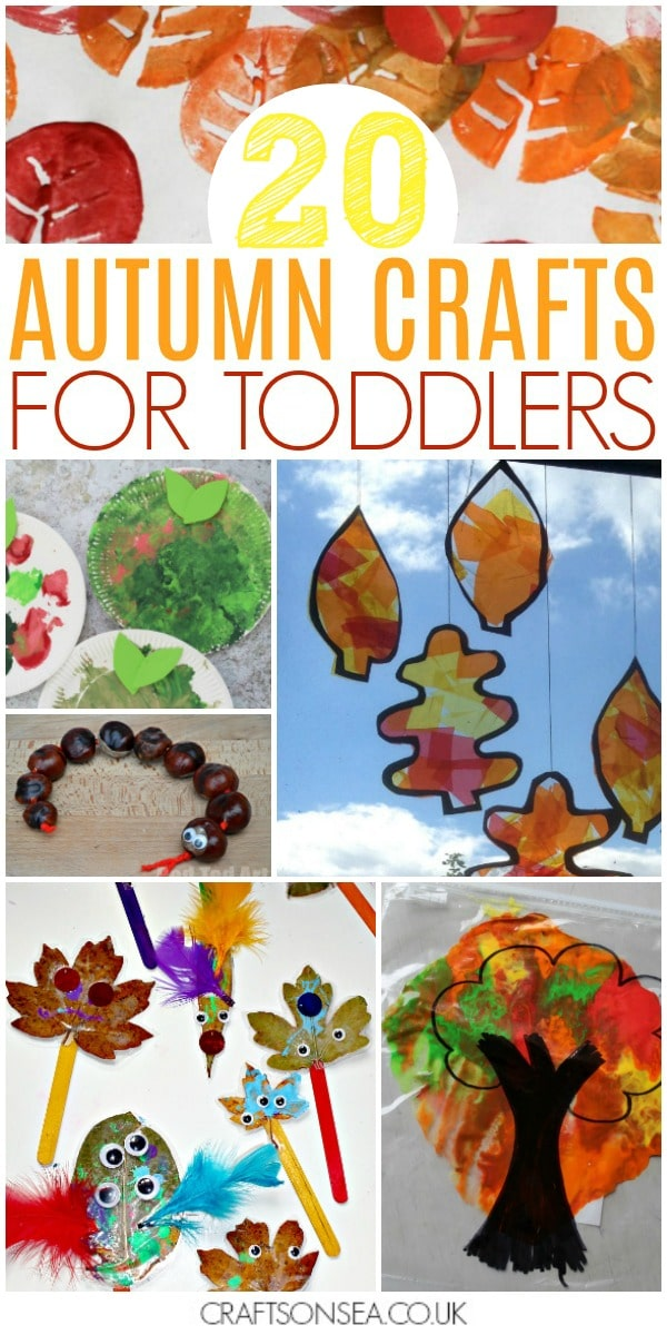 autumn crafts for toddlers preschool fall