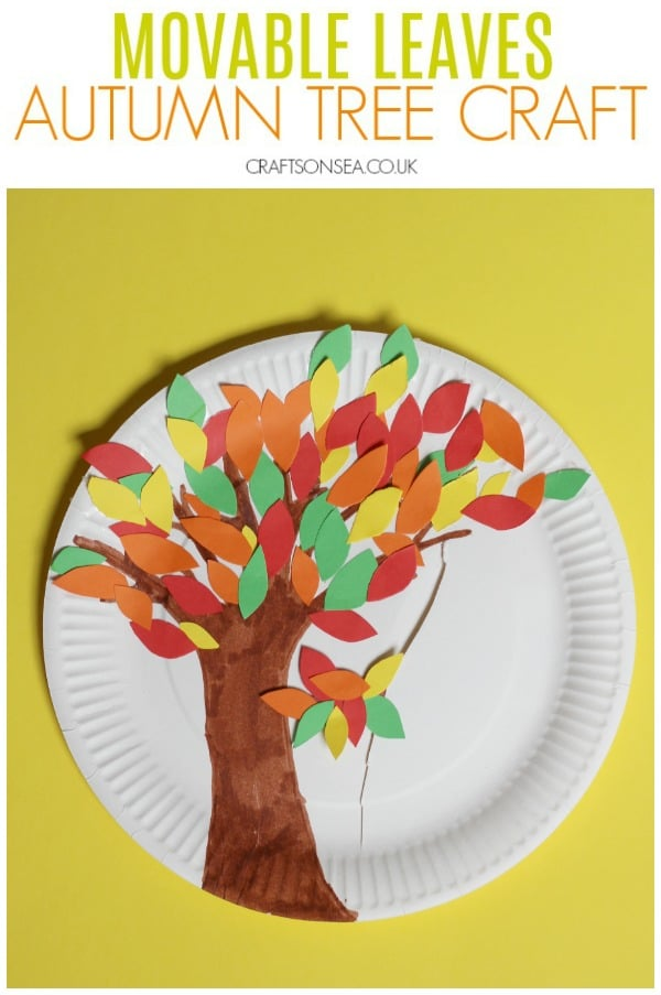autumn tree craft for kids movable