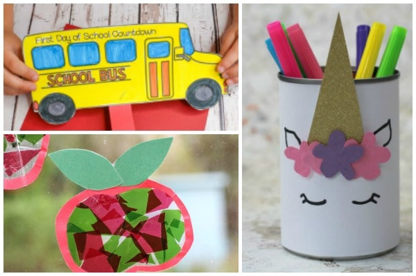 back to school crafts for kids to make