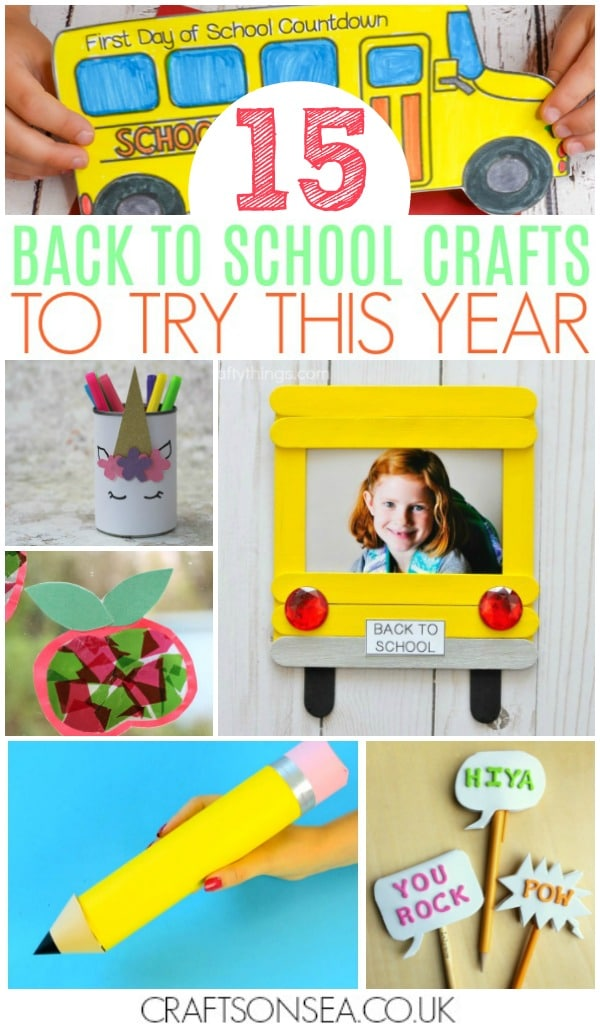 back to school crafts for kidsback to school crafts for kids
