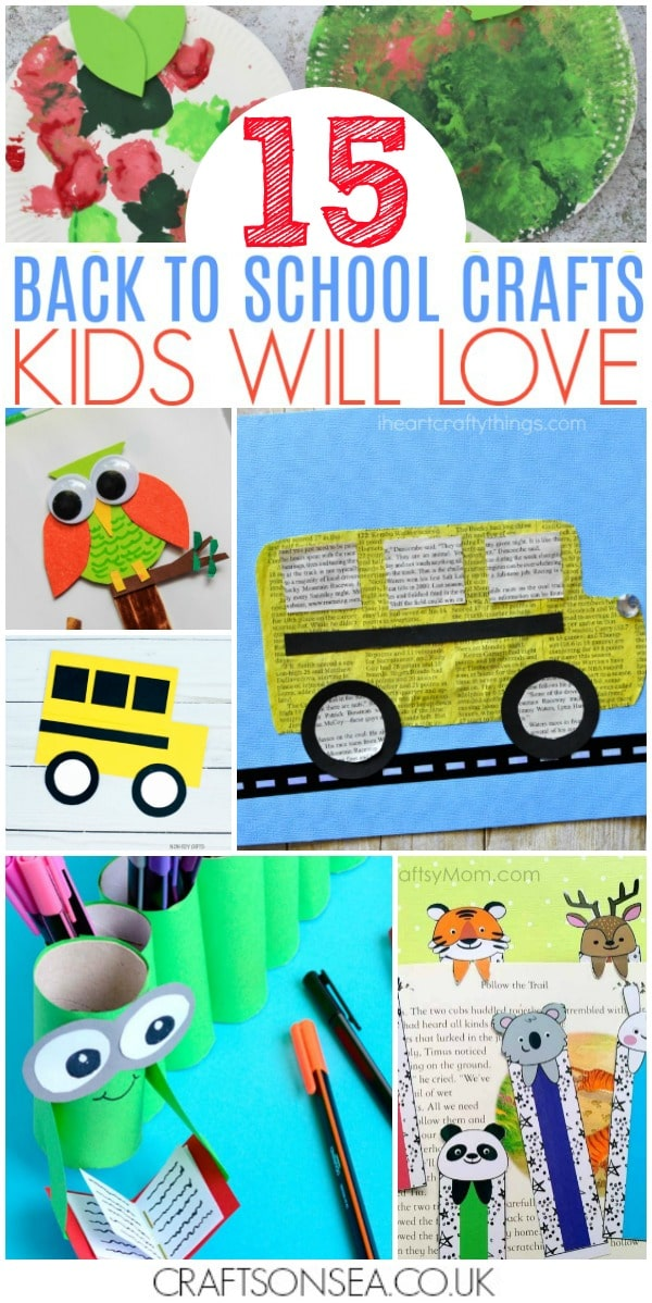 back to school crafts kids can make