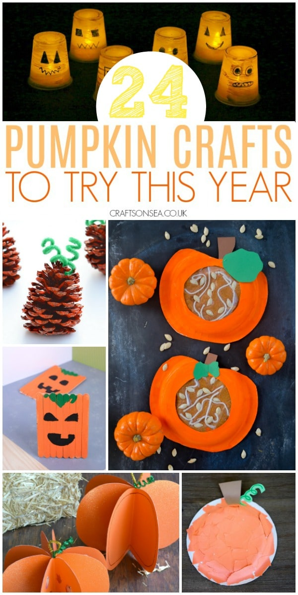 PUMPKIN CRAFTS FOR KIDS EASY PRESCHOOL FUN