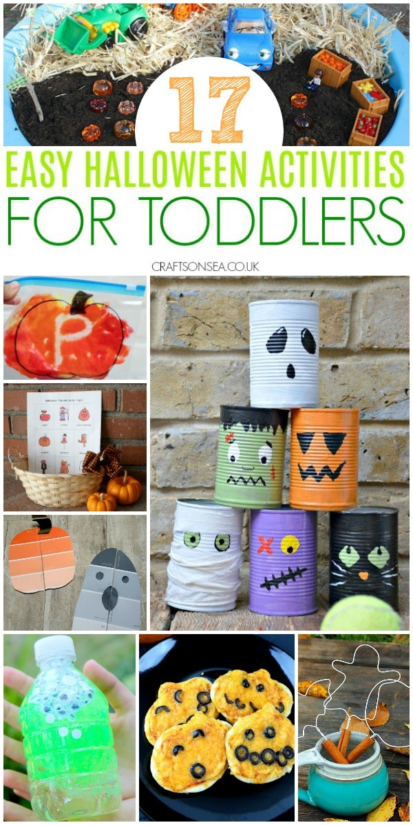 40 Easy And Fun Halloween Activities For Toddlers Crafts On Sea