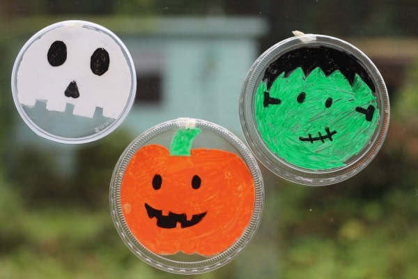 easy halloween suncatchers for kids