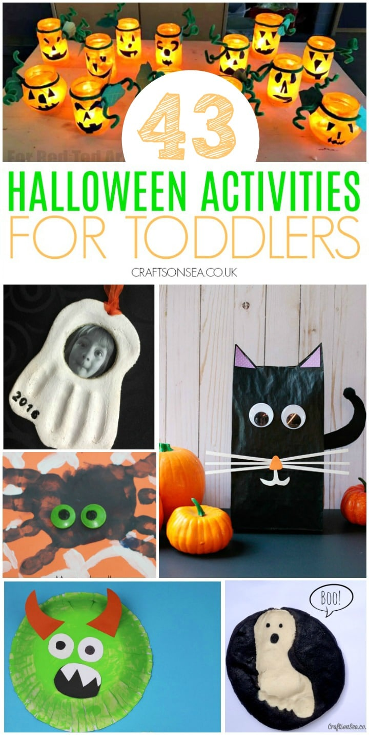 halloween activities for toddlers preschool crafts