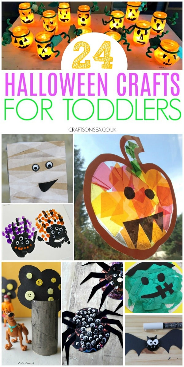 halloween crafts for toddlers easy