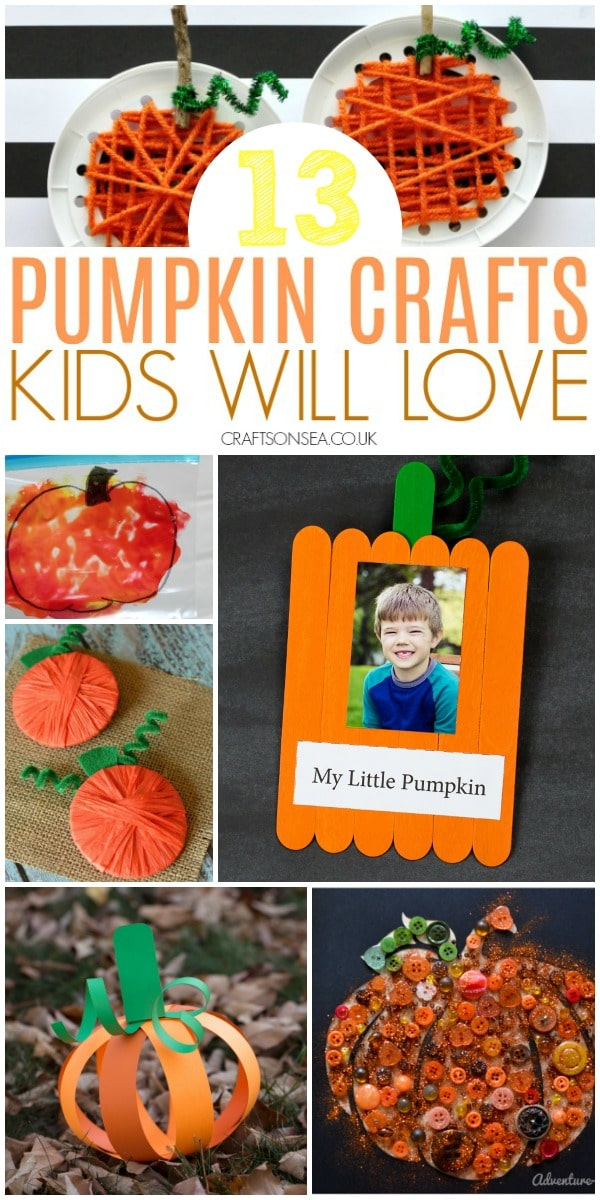 pumpkin crafts for kids harvest