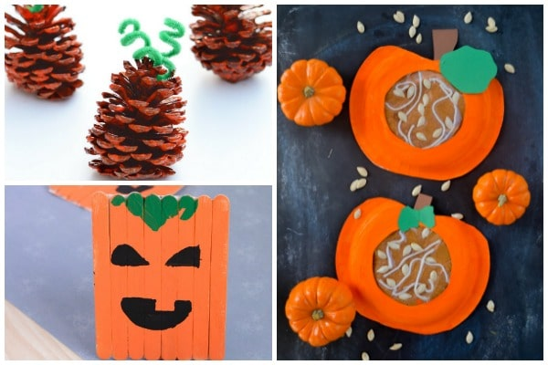 pumpkin crafts for kids to make
