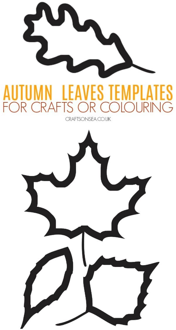 AUTUMN LEAVES TEMPLATES FREE