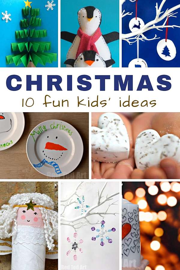 Fun Christmas crafts for kids ideas