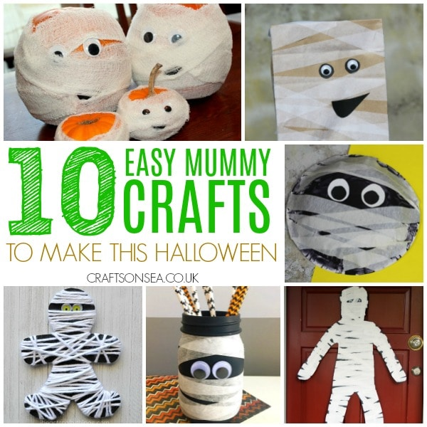 MUMMY CRAFTS FOR KIDS SQUARE