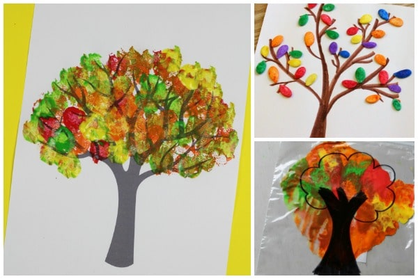 autumn tree craft ideas kids