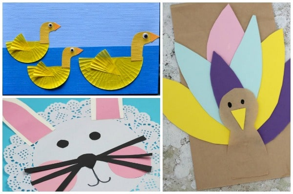 easy farm animal crafts for kids