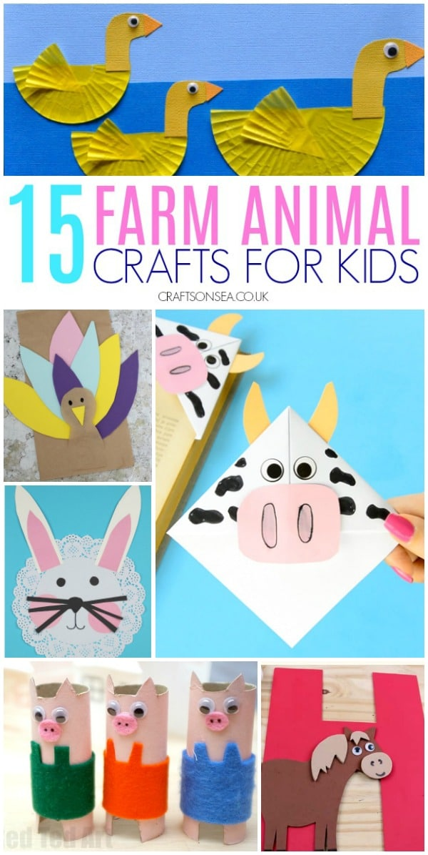 15 Farm Animal Crafts Kids Love Crafts On Sea