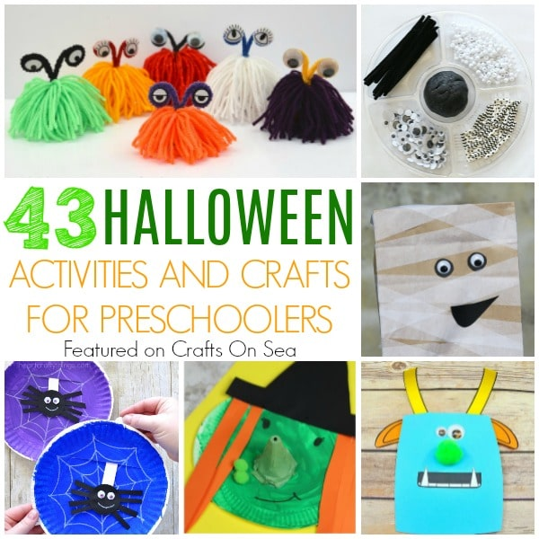 halloween activities and crafts for preschoolers square